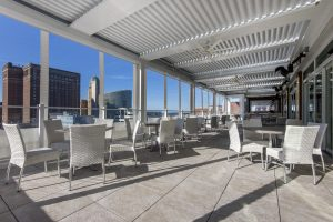 VUE Rooftop Lounge at Curtiss Hotel 1