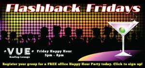 Flashback Fridays at VUE